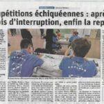 Article DNA - Reprise au Club de Bischwiller