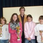 De gauche à droite : Nicolas Schlegel, Mélissa Fesselier, Camille Zalem & Juliette Guerin