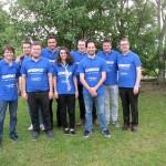 Chartres 2017 équipe du TOP 12 avec président