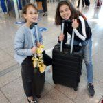 Jenna et Sofia départ de Stuttgart