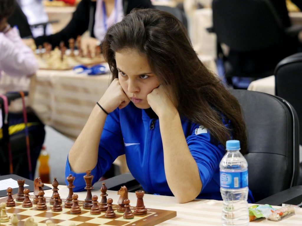 Meriem Bellahcene - Championnats du Monde jeunes 2016