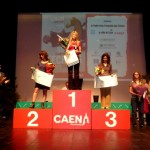 Sur le podium de Caen, Nino sur la 2e marche du podium