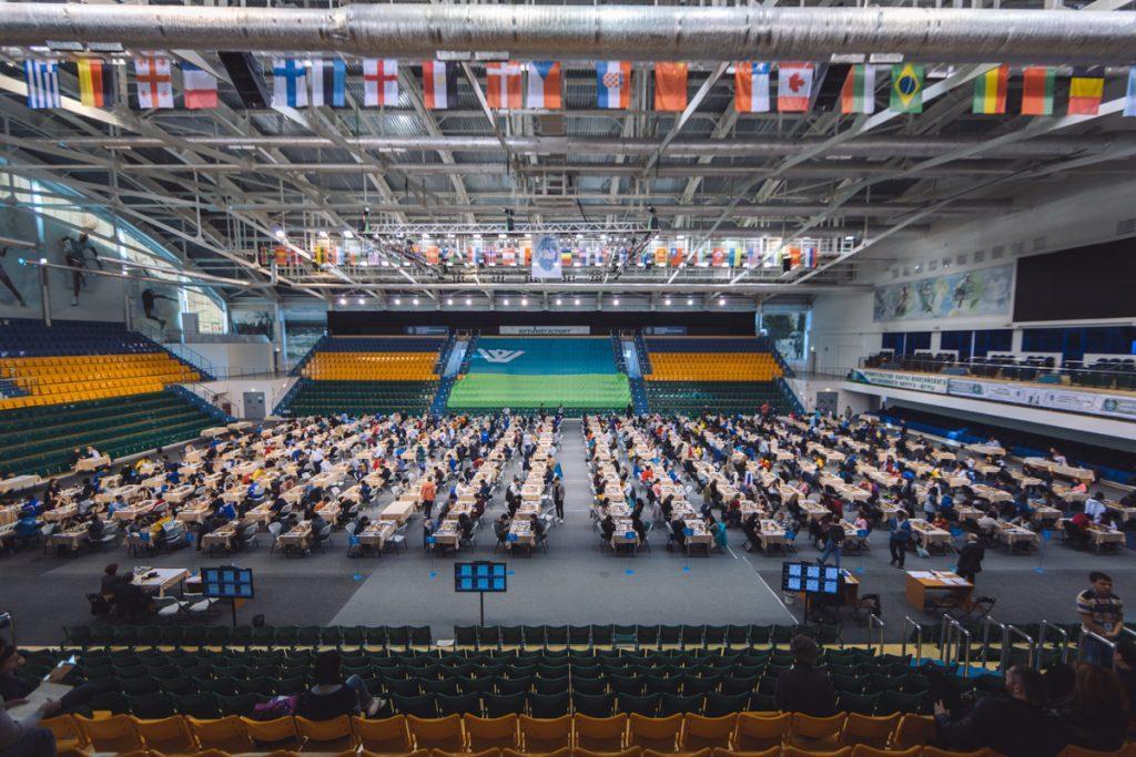 Salle de jeu - Championnats du Monde jeunes 2016