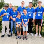L'équipe du Top Jeunes de Bischwiller et les Coachs