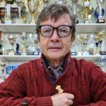 Roland Reeb est président du Cercle d'échecs de Bischwiller depuis le début. Photo DNA /Hervé KELLER